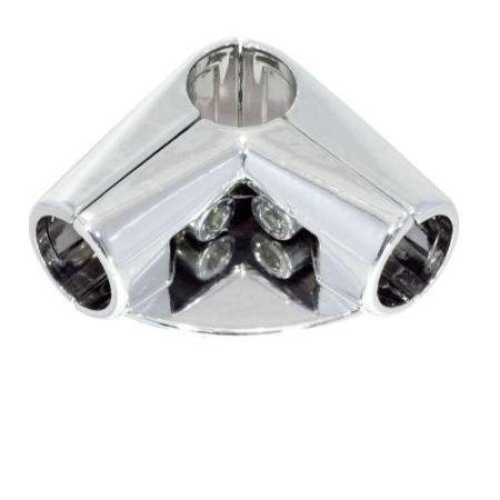Крепёж угловой с полкой с 4мя направлениями T16(uno06)