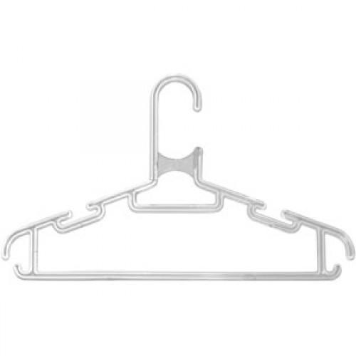 Прозрачные плечики для одежды оптом
