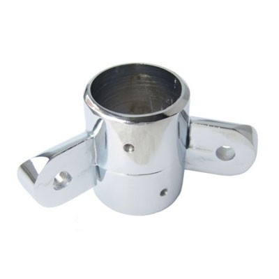 Крепёж двусторонний (поворотный) с фиксатором для трубы 32 или 50 мм Z060